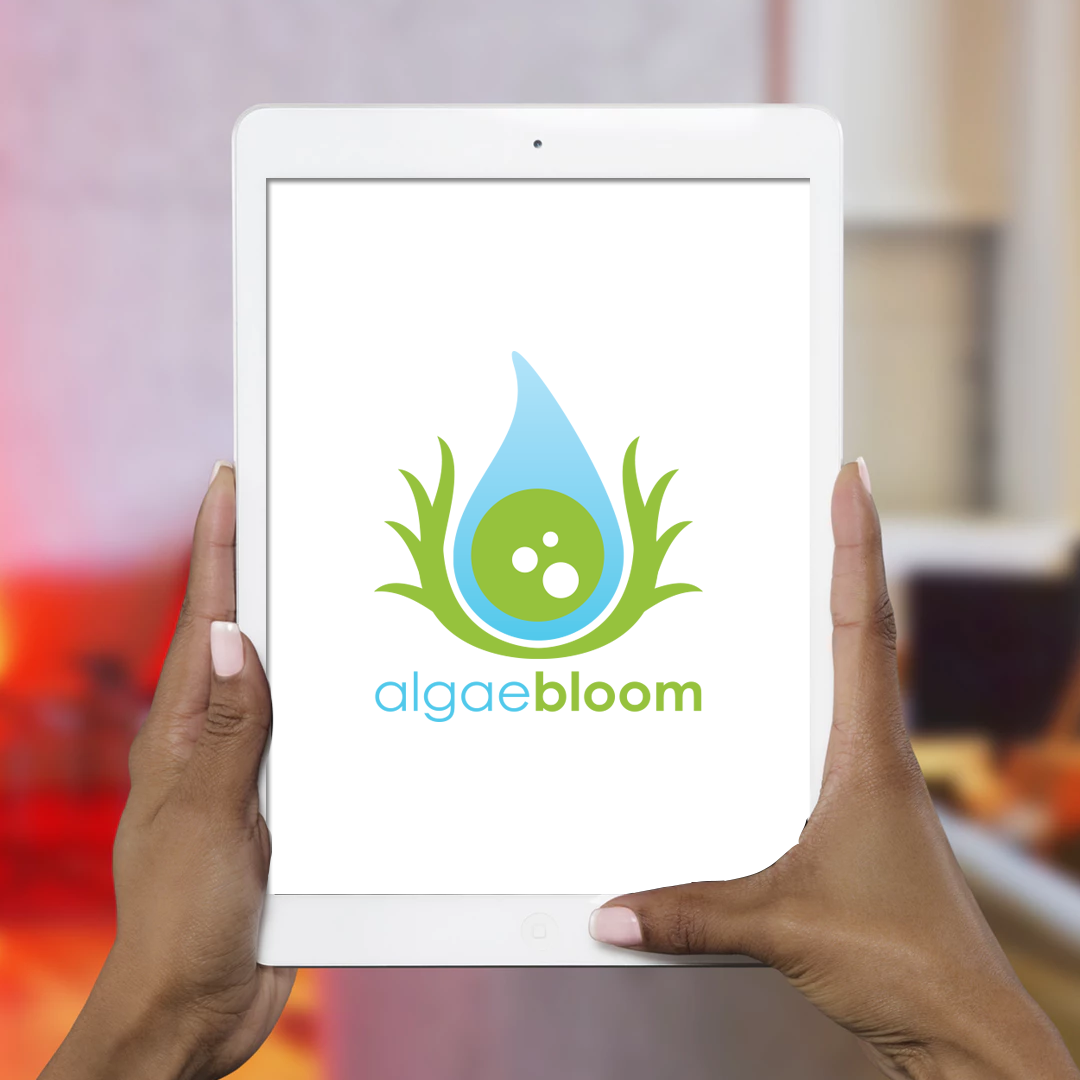 algae-bloom-logo-design