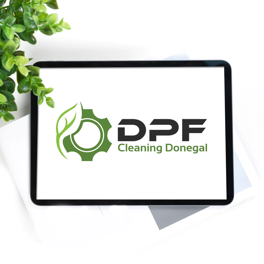 dpf-cleaning-donegal-logo-design