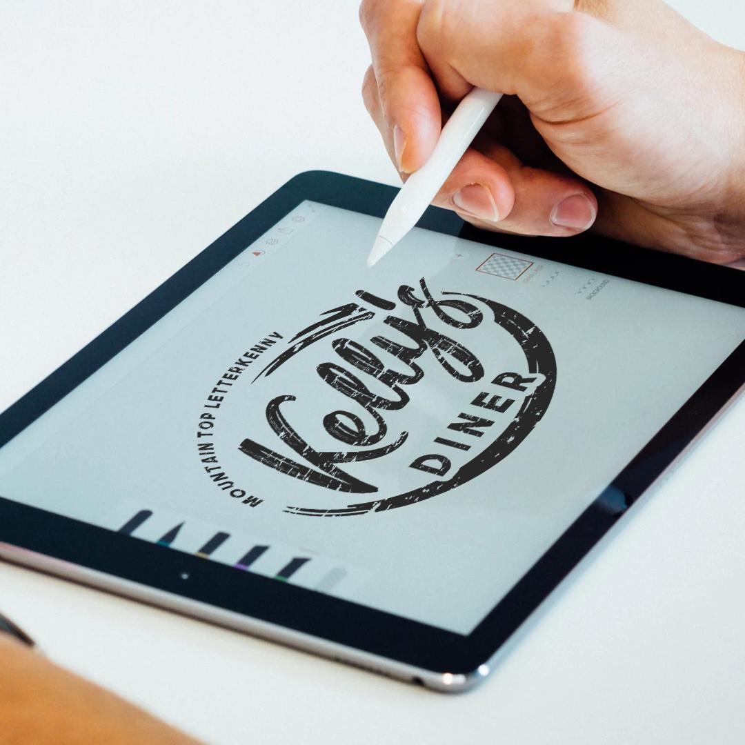 kellys-diner-logo-design