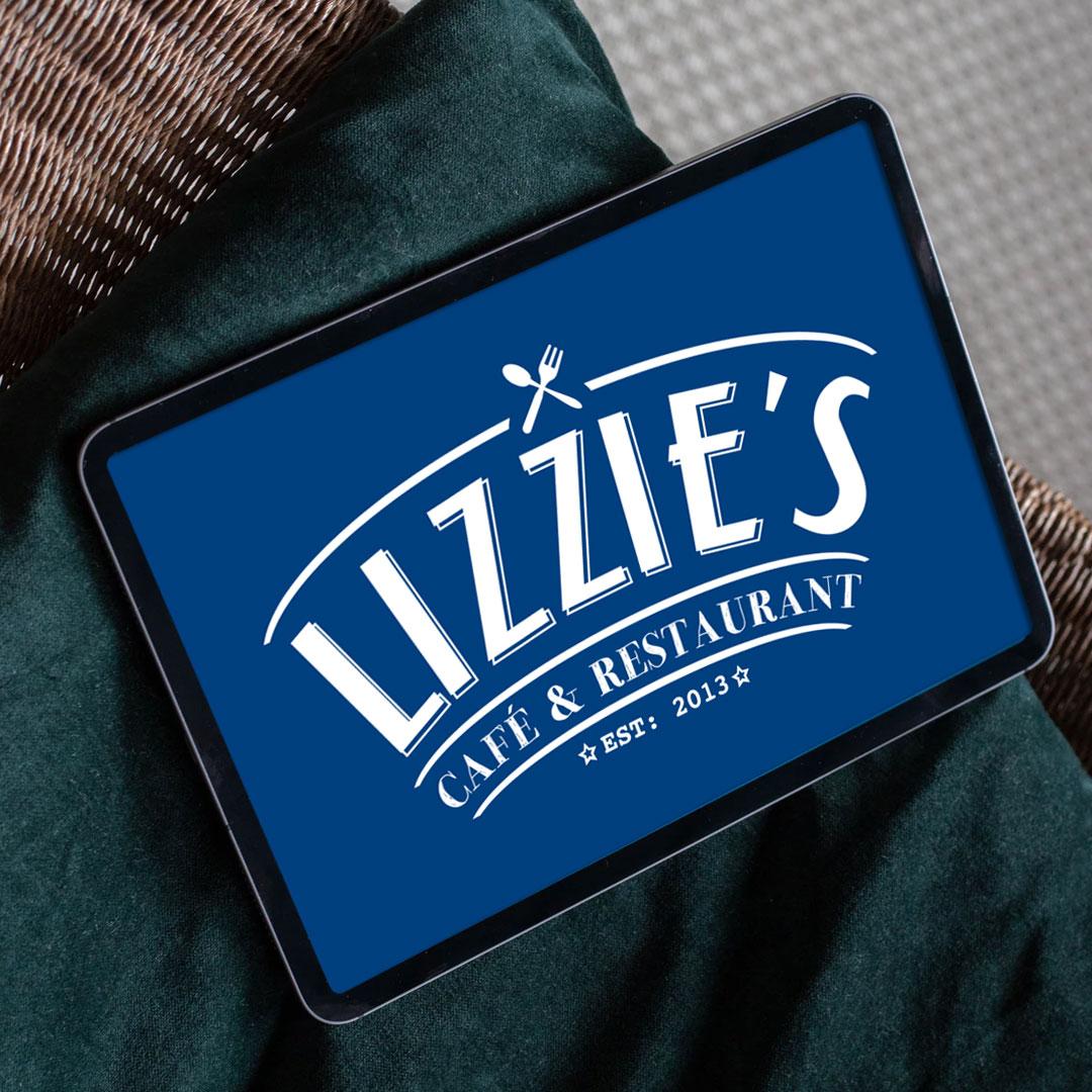 lizzies-cafe-restaurant-logo-design